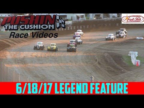 Angell Park Speedway - 6/18/17 - Legends - Feature