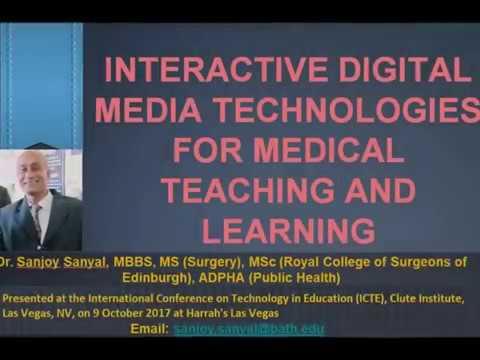 Interactive Digital Media Technologies-Conference Presentation Video - Sanjoy Sanyal