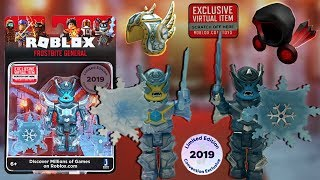 Roblox Toy Frostbite General SDCC Limited Edition [Unboxing] + Code Items Dominus & Helmet