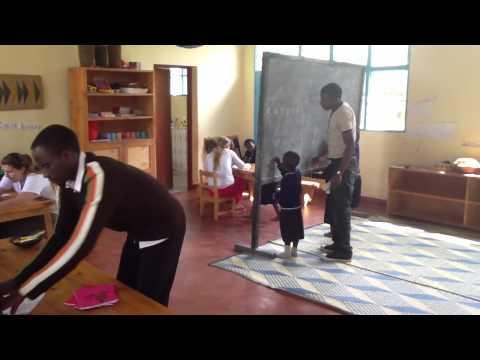 King Students Trip to Rwanda - May 2013