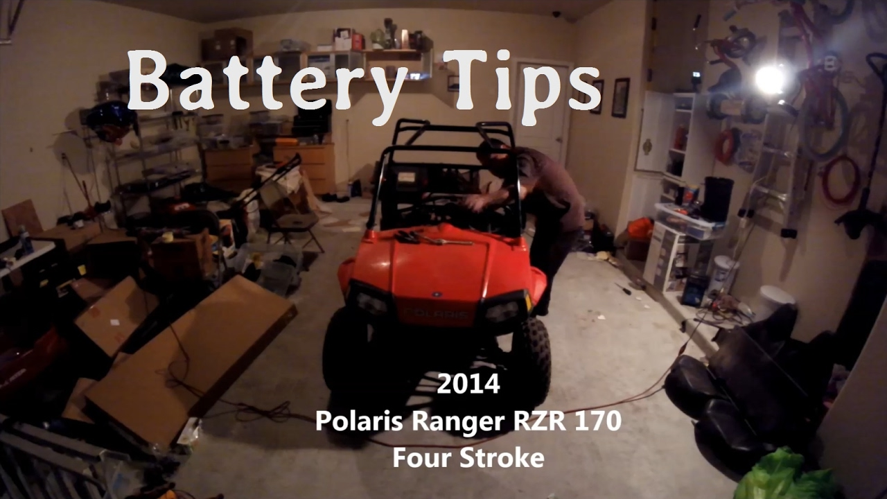 Polaris Razor 170 >> Polaris RZR 170 | Battery Charging Tip - YouTube