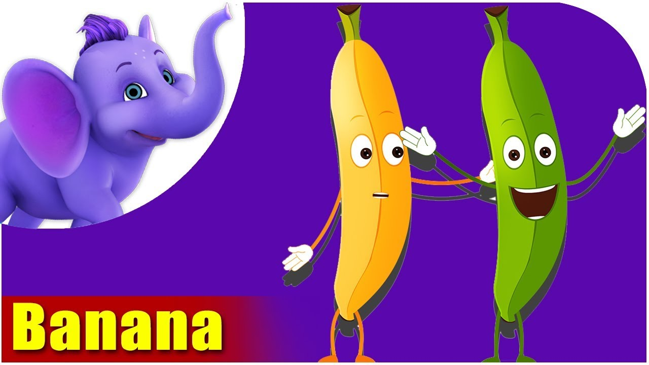 Kela - Banana Fruit Rhyme in Hindi
