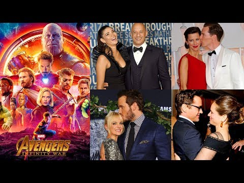 Real Life Couples of Avengers: Infinity War