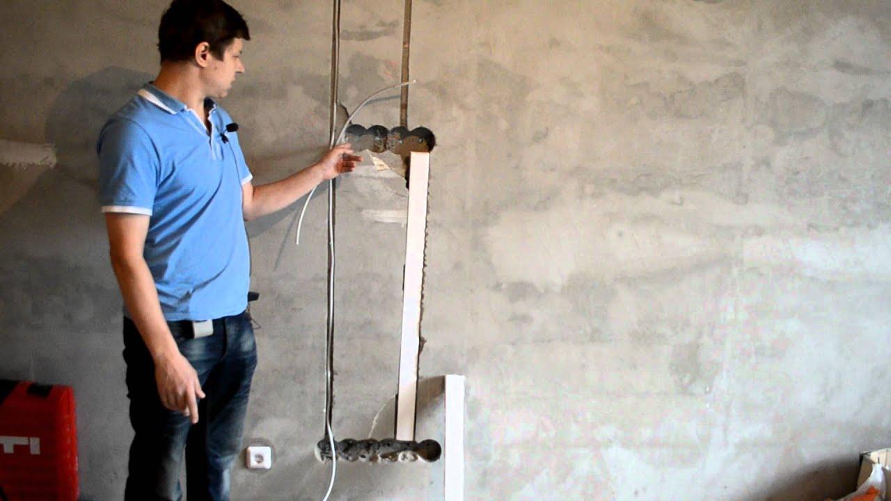 как замаскировать провода на стене своими руками