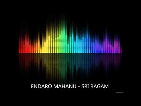 Endaro mahanubhavulu - Full song - Instrumental Music - Indian Music - Carnatic - Pancharatna kriti