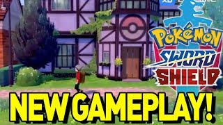 NEW GAMEPLAY LEAKED! WILD AREA MAP and More in Pokemon Sword and Shield!