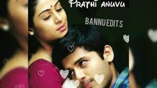 Heart touching whatsapp status in Telugu Jayam|manasu kanulu tericha song|lovesong