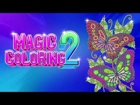 Magic Coloring Coloring Pages Color By Number Apps On Google Play