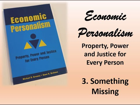 Resistance Podcast #163: Economic Personalism: Something Missing w/ Michael Greaney & Dawn Brohawn