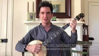 Zoom Clawhammer Banjo Workshops with Adam Hurt - starting in May 2021!
