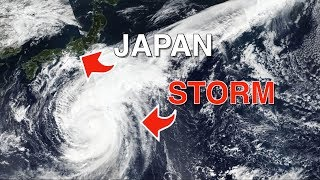 Japan during the Typhoon | Hagibis