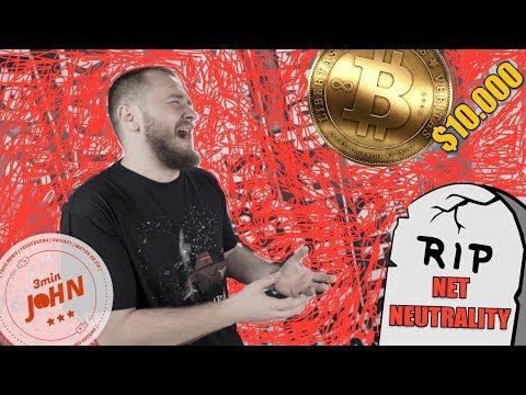Net Neutrality, iPhone X, Bitcoin