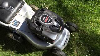 briggs and stratton 650 series lawn mower engine startup