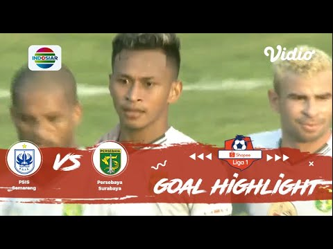 PSIS Semarang (0) vs (4) Persebaya Surabaya - Goals Highlights | Shopee Liga 1