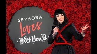 SEPHORA Loves Kat Von D - konferencja prasowa w Warszawie [SEPHORA]