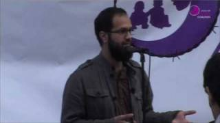 JFAC London Solidarity Rally - Asim Qureshi 2 of 2 - Aafia Siddiqui Day March 28th 2010