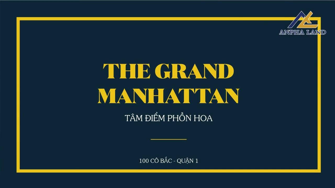Giá bán căn hộ The Grand Manhattan quận 1 ưu đãi của Novaland