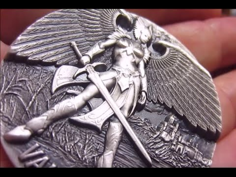 3 oz Max Relief Silver Valkyrie Coin is Here!