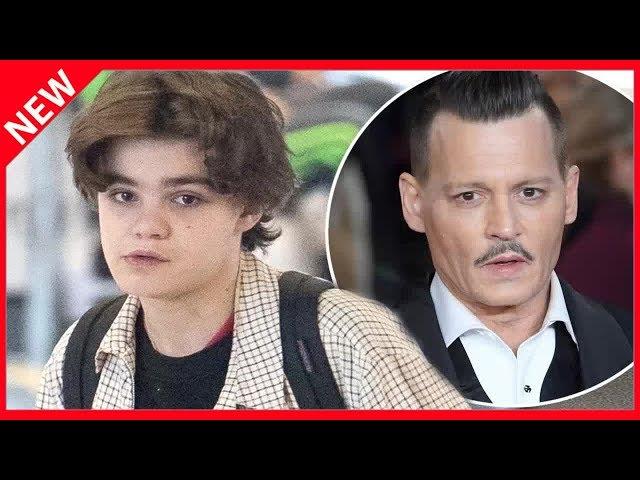 ✅  Jack, le fils de Vanessa Paradis et Johnny Depp a bien changé\: il vient de fêter ses 18 ans