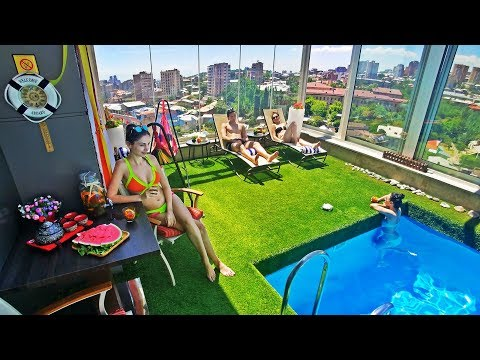 Swimming in the Sky @ Thai Penthouse