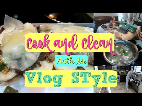 Cook and Clean with Me Vlog Style//Day in the Life//Keep Calm and Clean