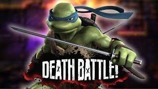 Leonardo Shells Out for DEATH BATTLE!