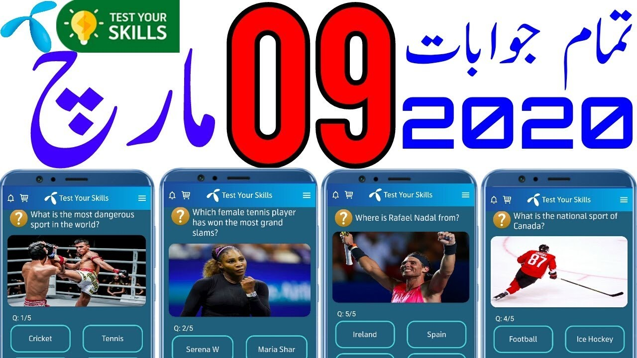 9 Mar My Telenor Today Questions Answers 9 March My Telenor App Questions Today Telenor Youtube