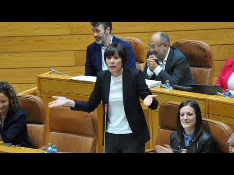 """Ana Pontón a Feixóo: """"Deixe de agredir a lingua galega e cumpra lei de normalización lingüística"""""""