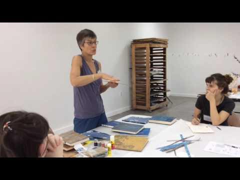 Heather Allen Hietala: Arrowmont Workshop Demo, 2016