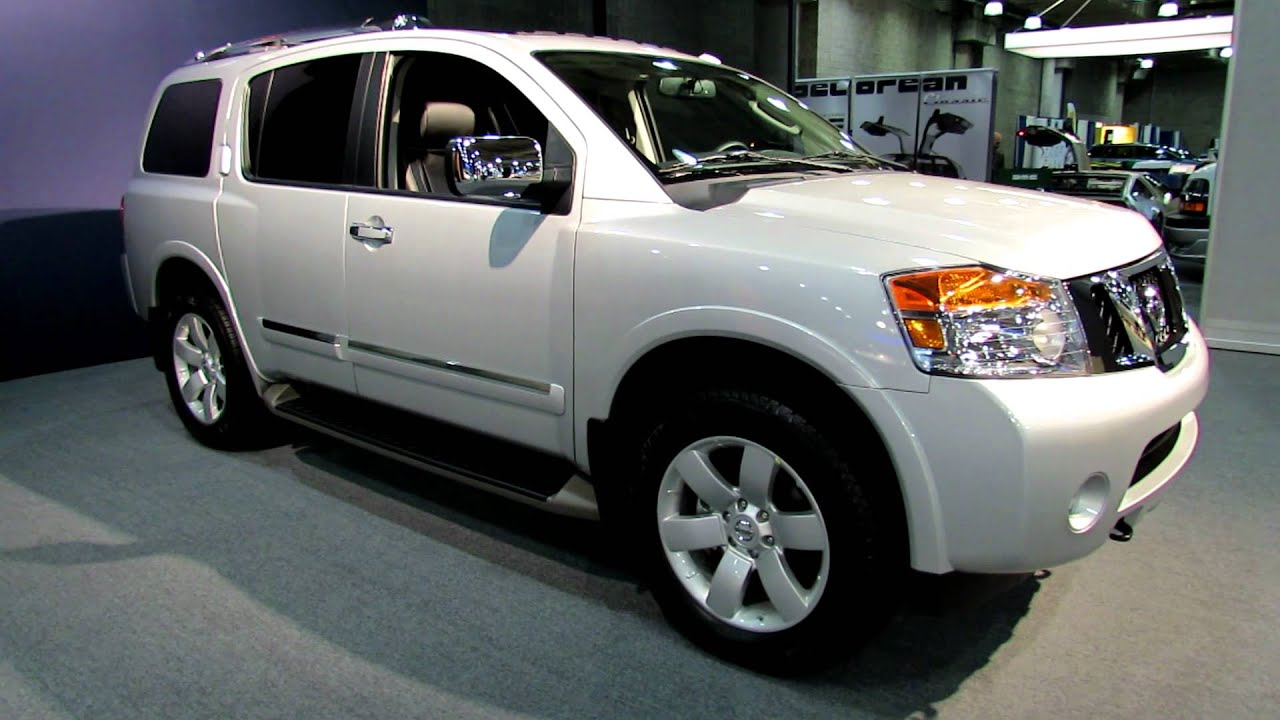 2012 Nissan Armada SL Exterior and Interior at 2012 New ...