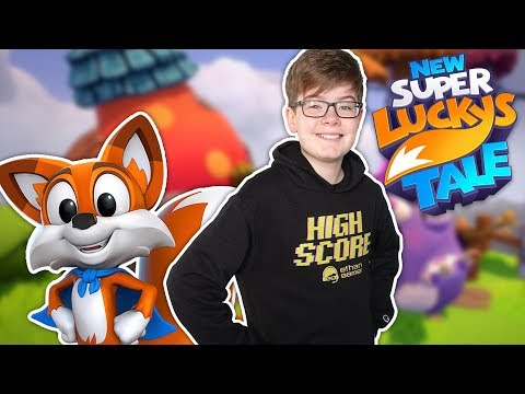Let's Play NEW SUPER LUCKY'S TALE!