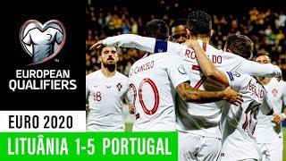 Euro 2020: Lituânia 1 - 5 Portugal