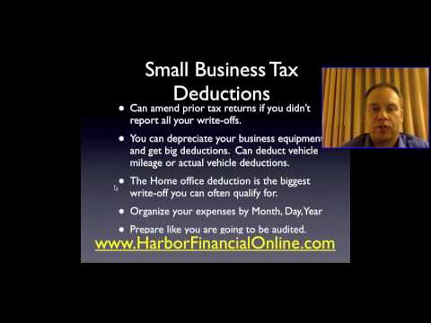 Small Business Income Tax Planning &amp  Preparation 2011, 2012