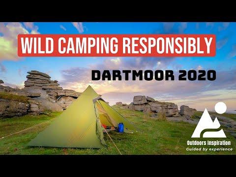 Wild Camping Responsibly, Dartmoor 2020