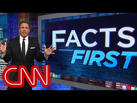Chris Cuomo fact checks Trump's wildfire tweets
