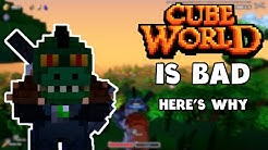Cube World is bad. Here's why.