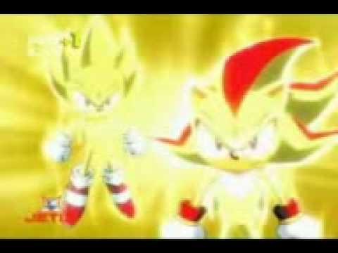 super sonic vs super shadow - YouTube
