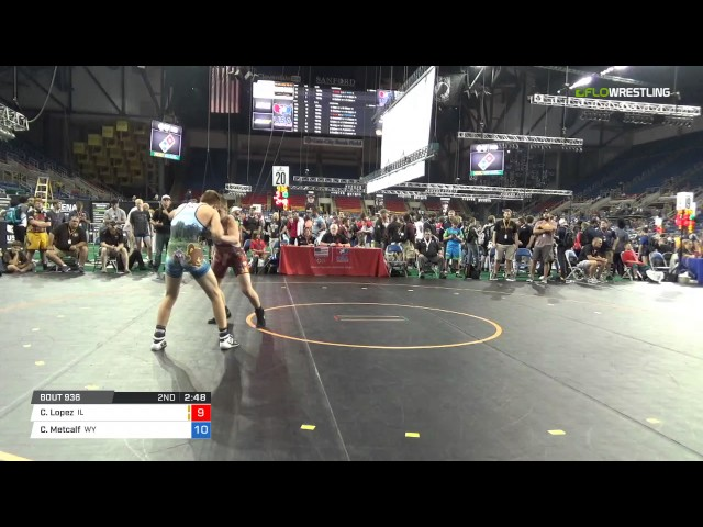 Cadet GR 132 Consi of 32 #2 - Colby Lopez (IL) vs. Cameron Metcalf (WY)