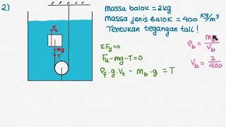 Download Video F201 Fluida Statis : Contoh Soal Hkm Archimedes 1 MP3 3GP MP4