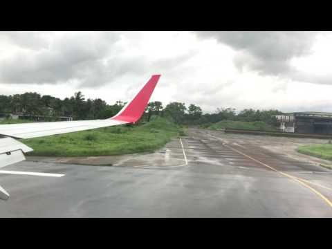 Landing at Shah Amanat International Airport by Regent Airline