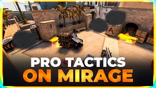 CS:GO PRO TACTICS on MIRAGE