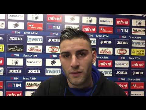 Murru nel post Sampdoria-Torino: «Ci è mancato il guizzo per la vittoria»