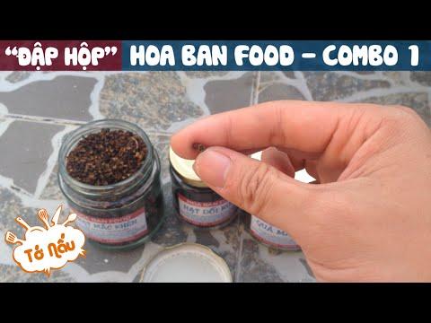 """""""Đập Hộp"""" Hoa Ban Food – Combo 1"""
