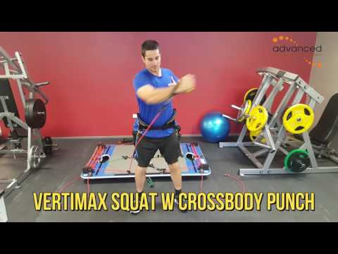 VERTIMAX SQUAT W CROSSBODY PUNCH