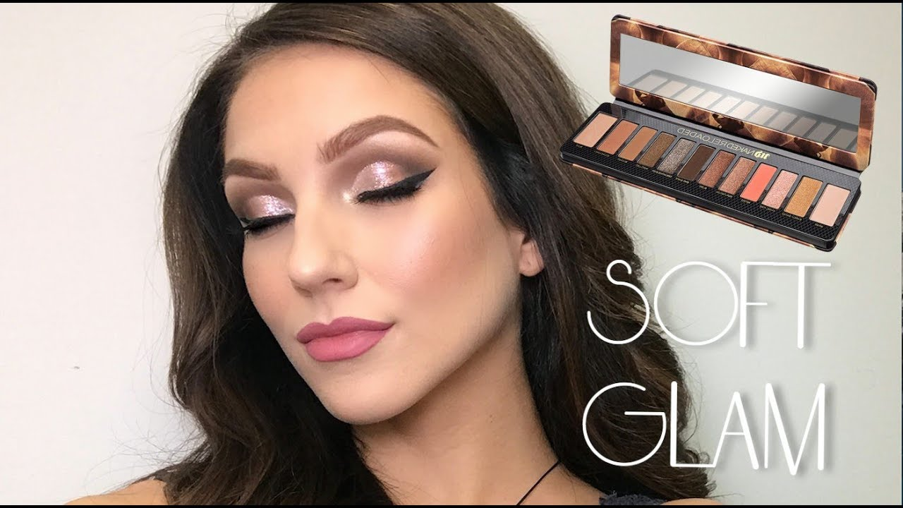 NEW Urban Decay Naked Heat Palette Makeup Tutorial - YouTube