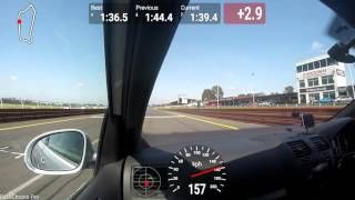 Sandown Raceway Track Day 27/09/15 Go-Pro Golf GTI Session 2
