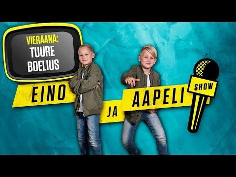 Eino ja Aapeli Show: Tuure Boelius