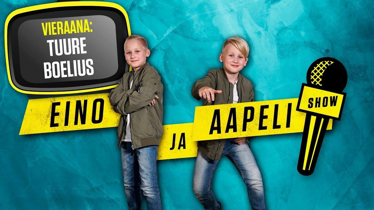 Eino ja Aapeli Show: Tuure Boelius #1