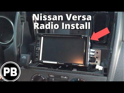 2007  2011 Nissan VersaNoteTiida Pioneer AVHX2700BS Full Tutorial Stereo Install