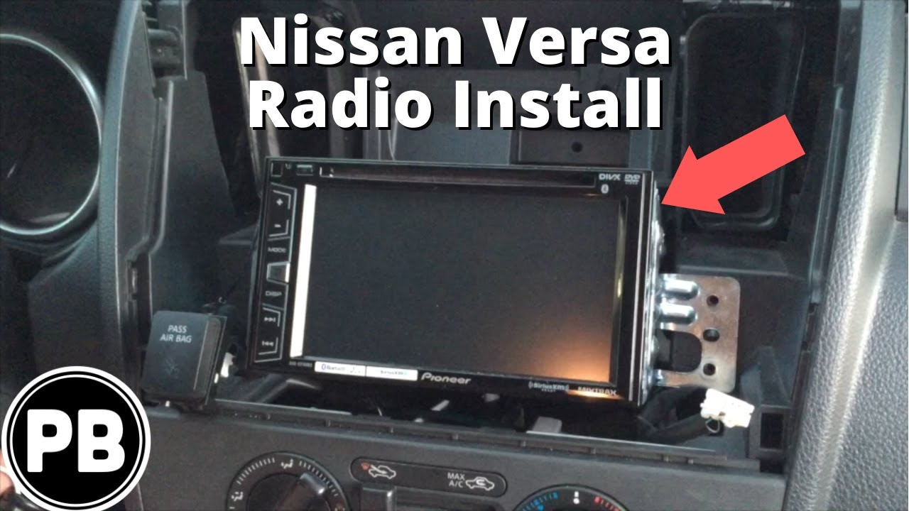 2006 Nissan Pathfinder Wiring Diagram 1992 Ford F150 Radio 2007 - 2011 Versa/note/tiida Pioneer Avh-x2700bs Full Tutorial Stereo Install Youtube